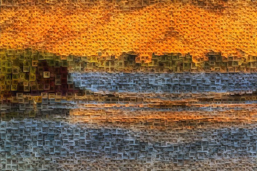 Panoramic Solitude Digital Art