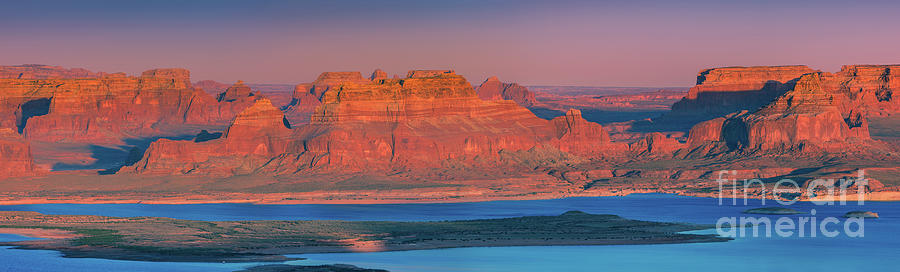 Panoramic View From Alstrom Point, Lake Powell, Utah Photograph