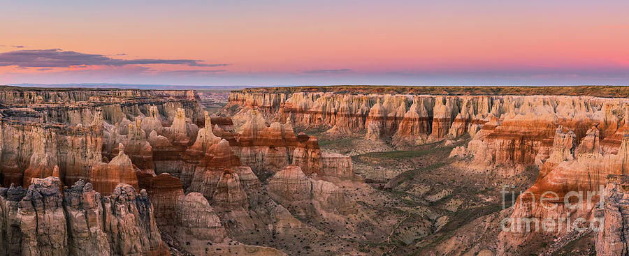 Panoramic  View On Coal Mine Canyon, Arizona Photograph
