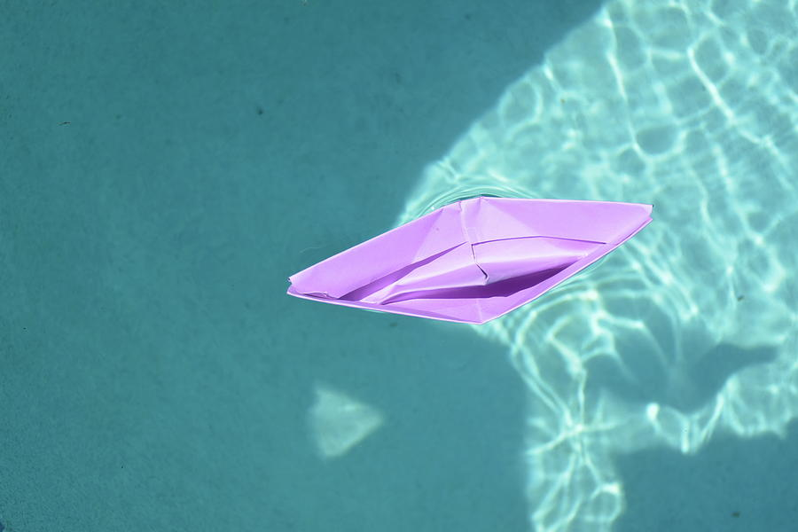 Paper Boat Photograph