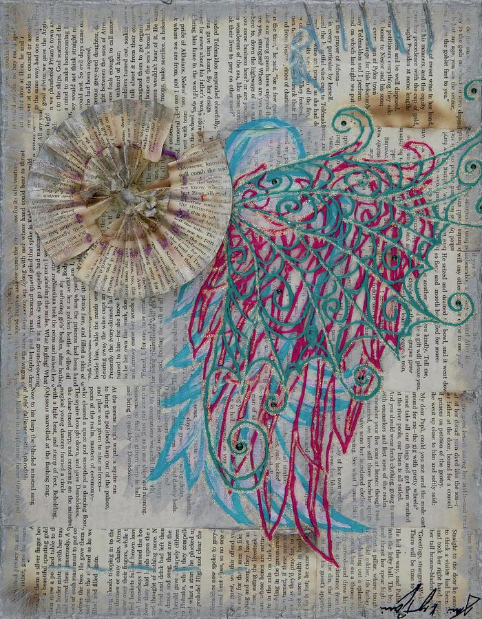 Paper Mixed Media - Paper Dreams by AliciaKay