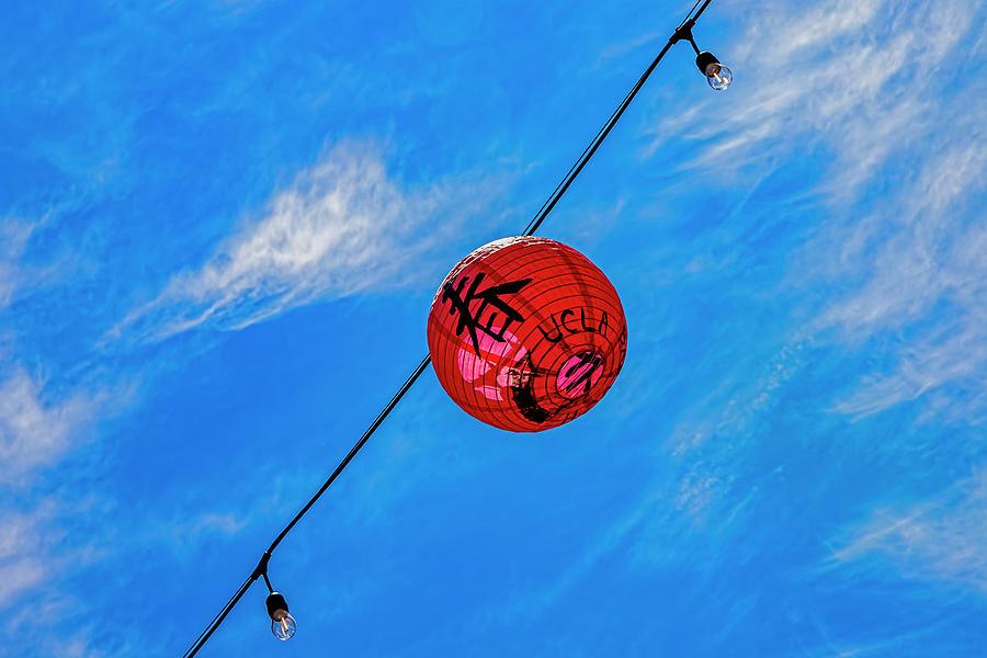 Paper Lantern Chinatown Photograph by Robert Ullmann