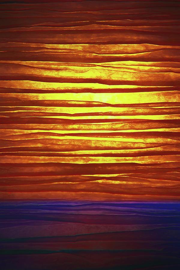 Paper Sunrise Photograph