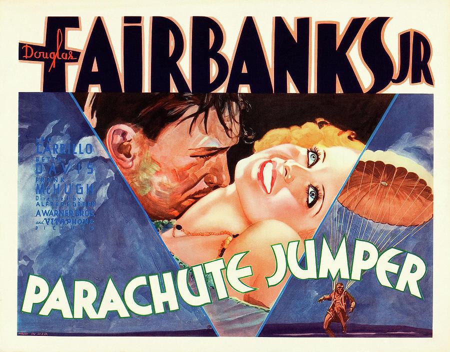 parachute Jumper - 1933 Mixed Media
