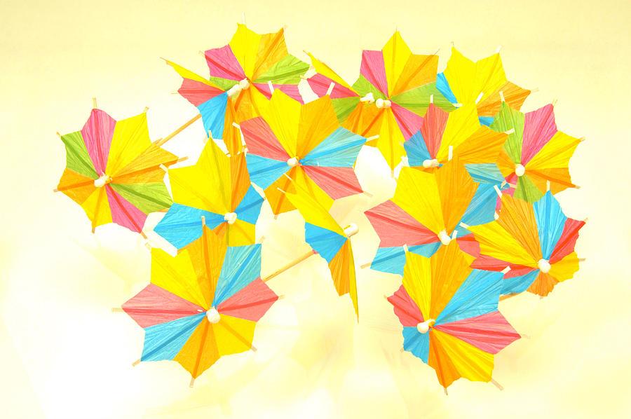 Parade Of Umbrellas Photograph