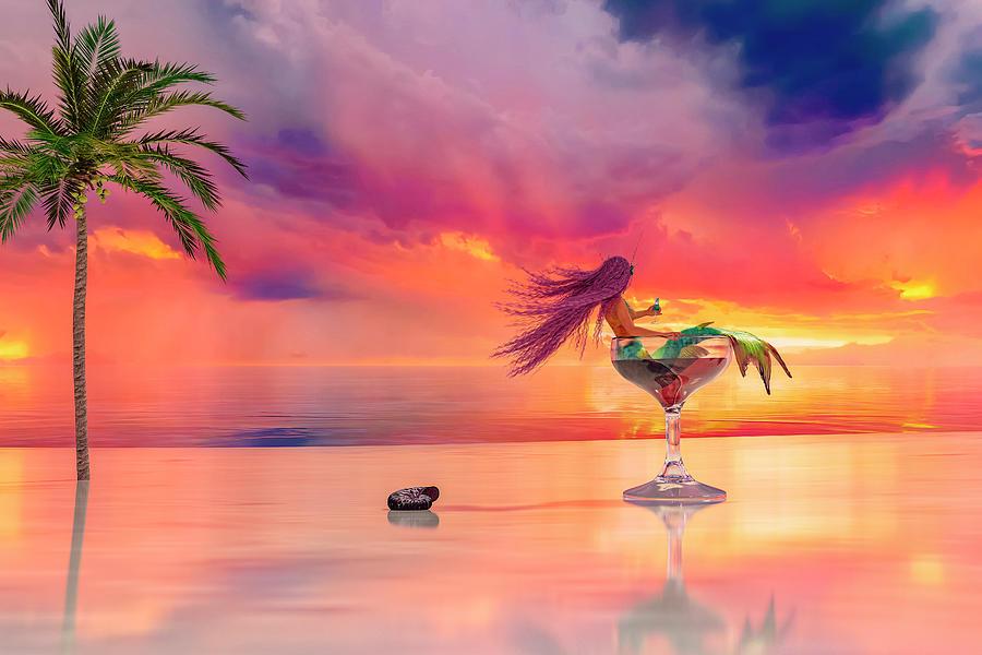 Paradise Digital Art