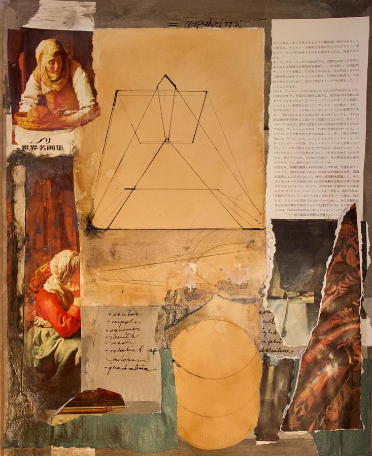 Collage Mixed Media - Paralipomenon 1 by Noe Badillo