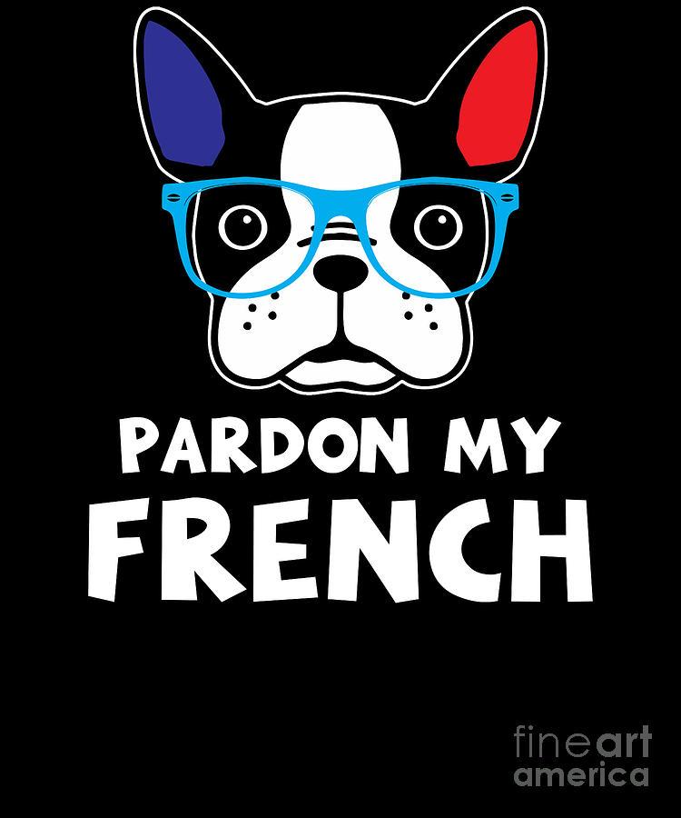 Sarcastic tote bag Sarcasm Pardon my French Cotton Tote Bag Funny gift Pardon my french tote bag Funny tote bag