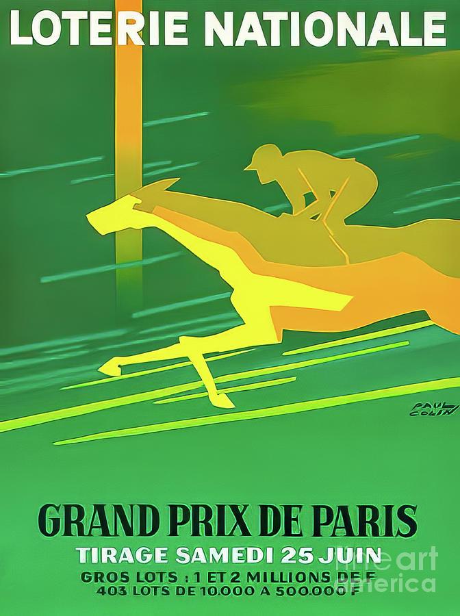 Paris 1966 Grand Prix Drawing