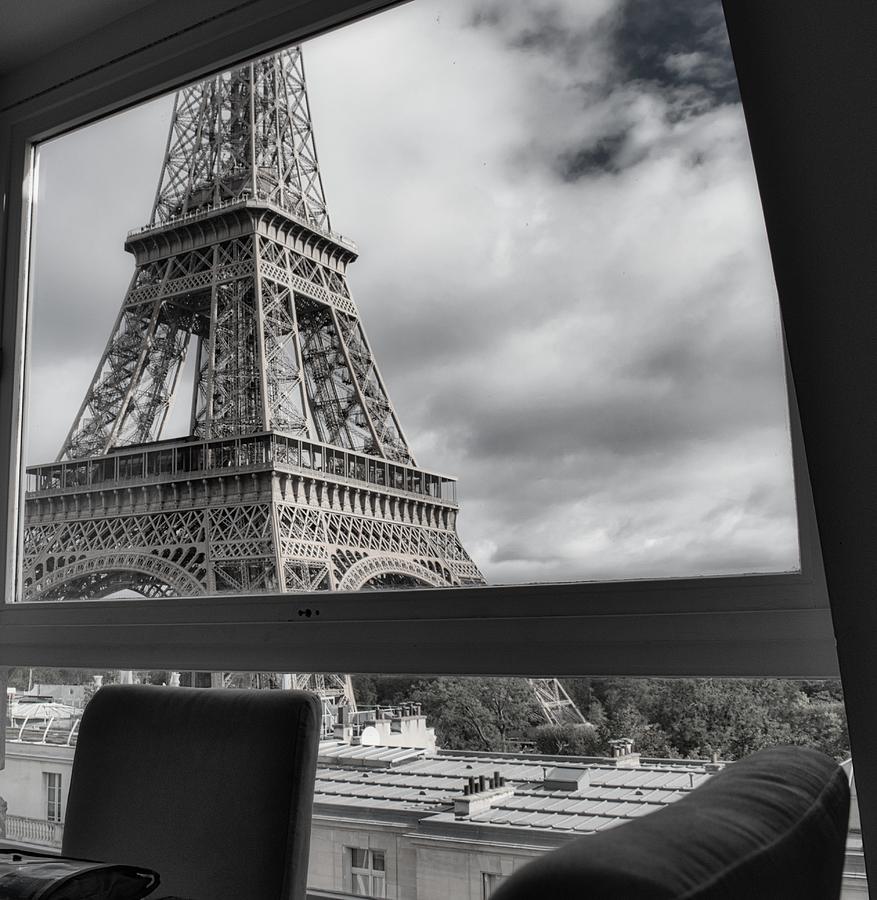 Paris Eiffel View by Portia Olaughlin