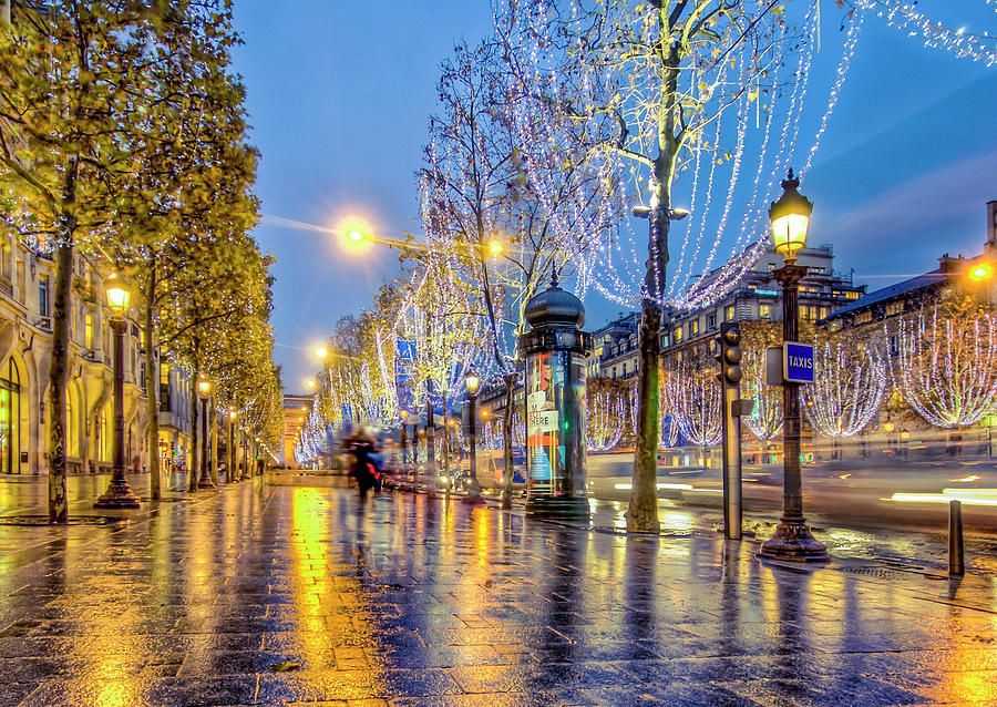 Paris Lights by Orenda Pixel Design