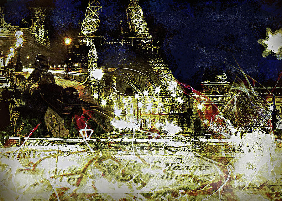 Paris Montage by Orenda Pixel Design