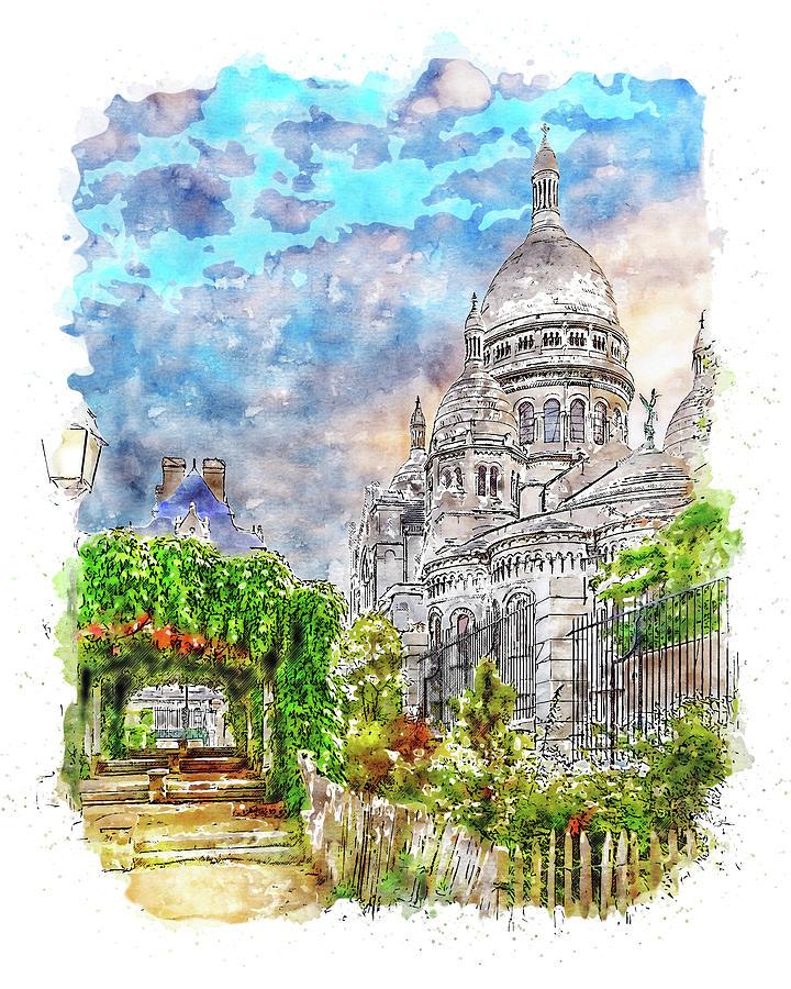 Paris Panorama - 29 by AM FineArtPrints