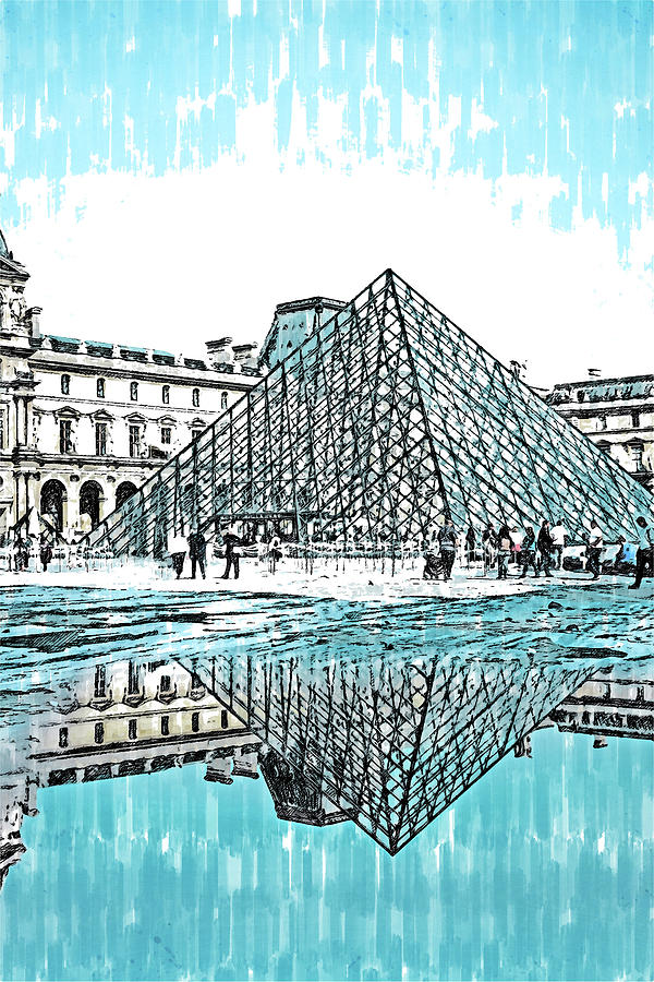 Paris Panorama - 30 by AM FineArtPrints