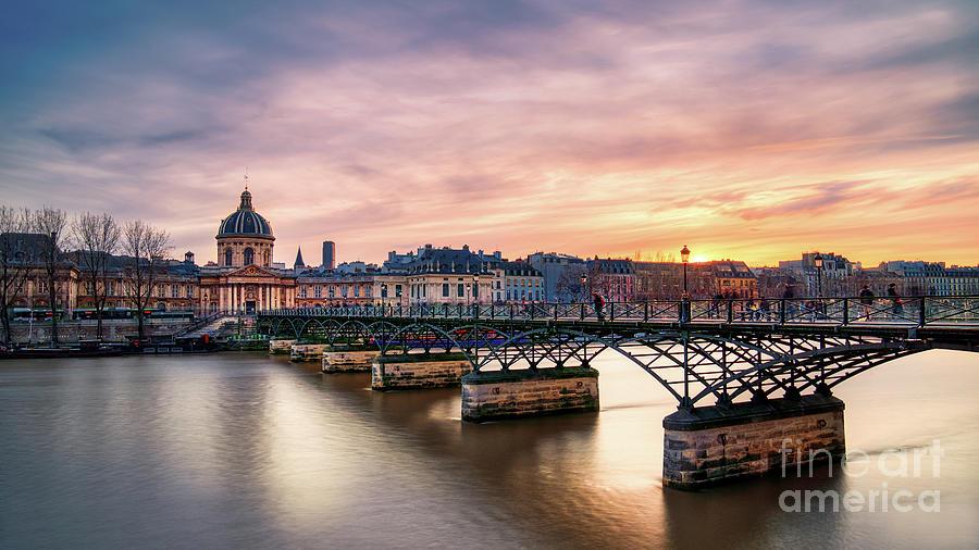 France Photograph - Paris Pont des Arts by Thomas Speck