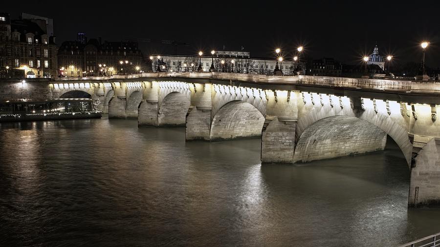 Paris Pont by Miguel Winterpacht