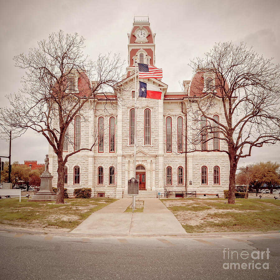 Parker County Courthouse  by Imagery by Charly