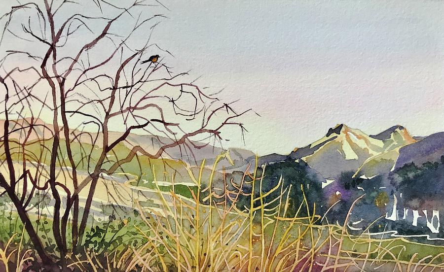 Reagan Ranch Meadow - Golden Hour Painting