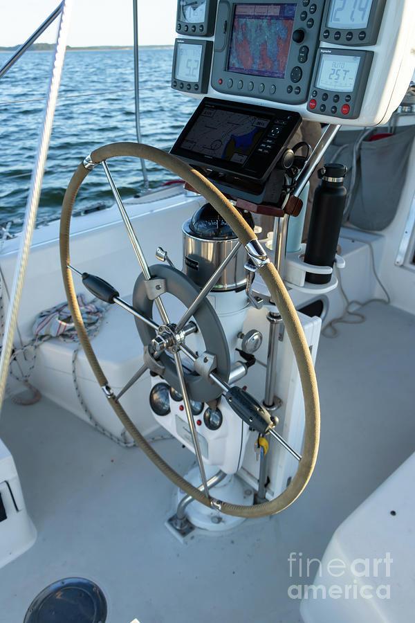 Parts Of A Sailboat 14 Photograph