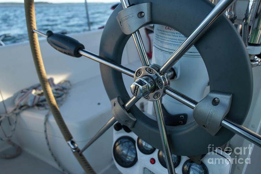 Parts Of A Sailboat 15 Photograph