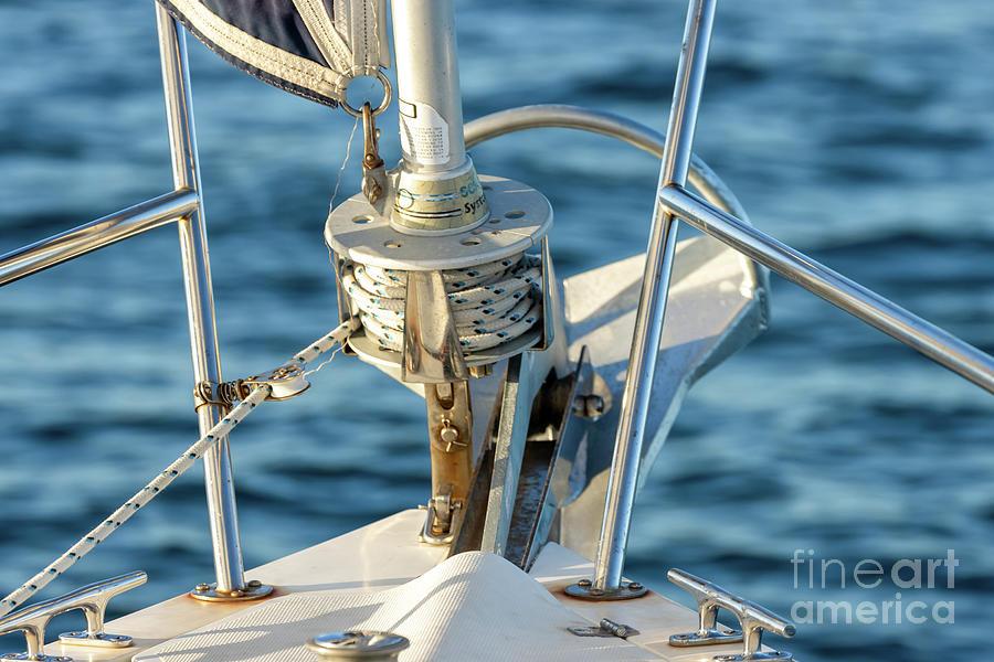 Parts Of A Sailboat 25 Photograph