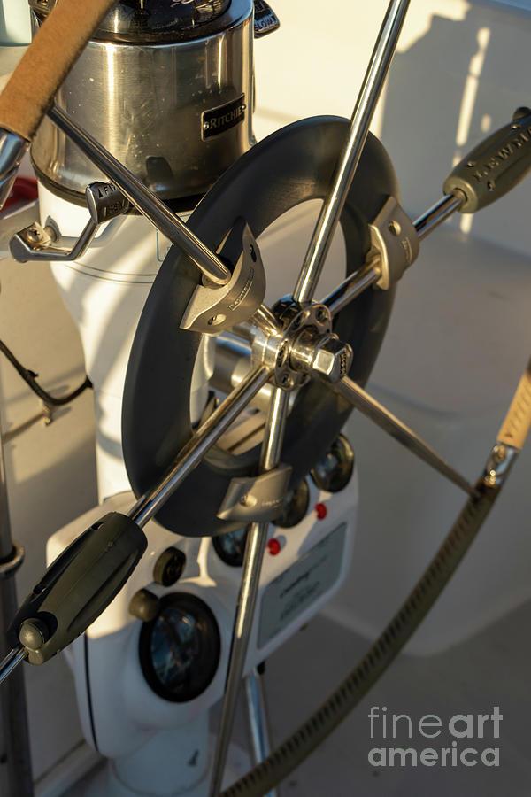Parts Of A Sailboat 27 Photograph