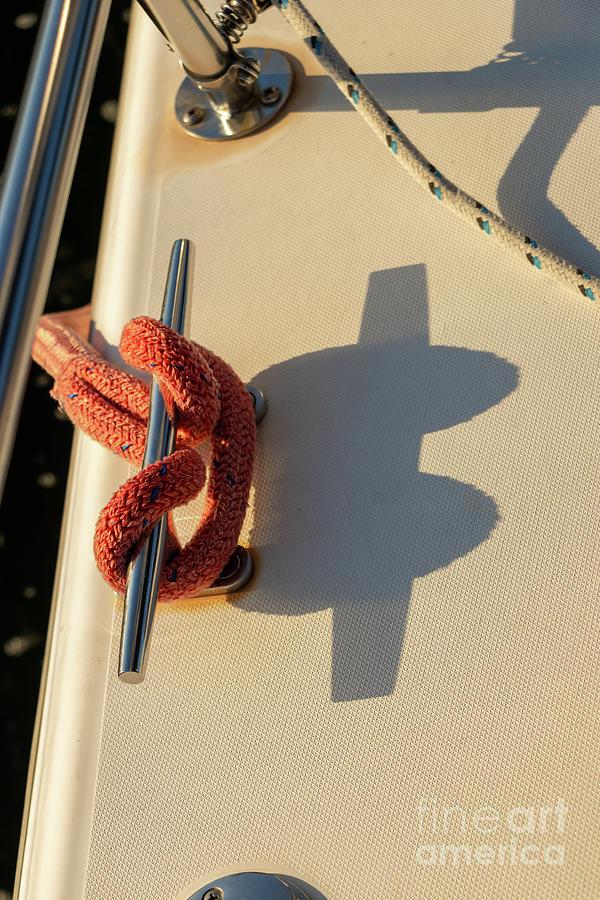 Parts Of A Sailboat 29 Photograph