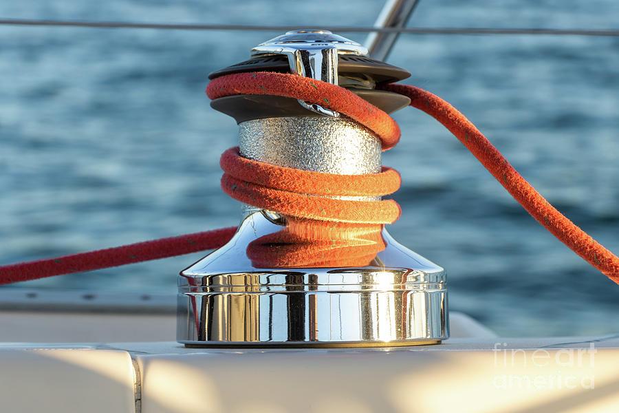 Parts Of A Sailboat 34 Photograph