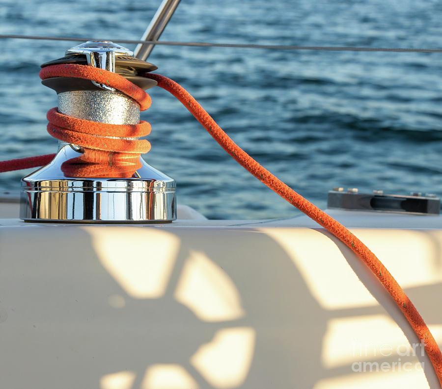Parts Of A Sailboat 35 Photograph