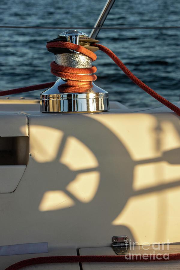 Parts Of A Sailboat 36 Photograph