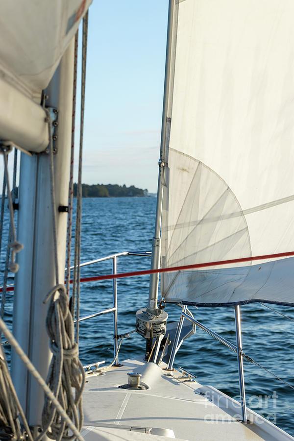 Parts Of A Sailboat 5 Photograph