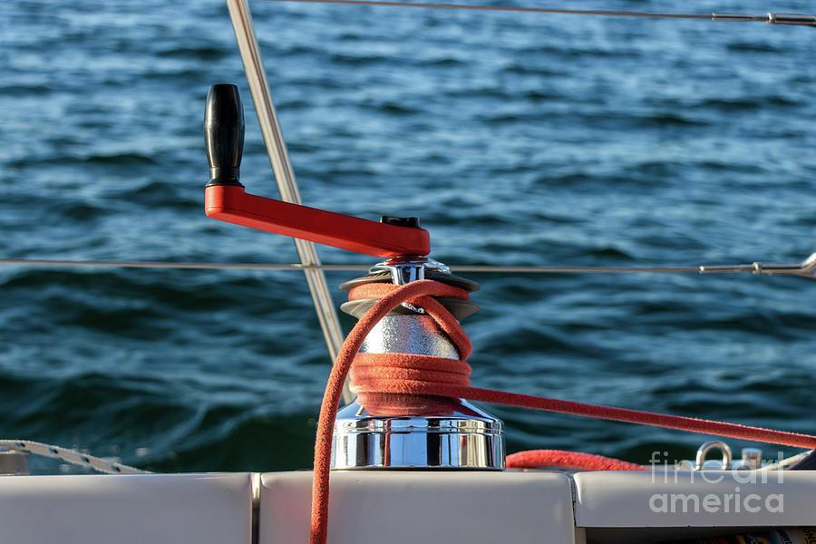 Parts Of A Sailboat 6 Photograph