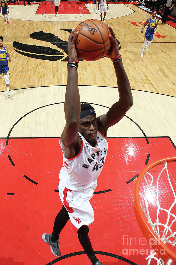 Pascal Siakam Photograph by Nathaniel S. Butler