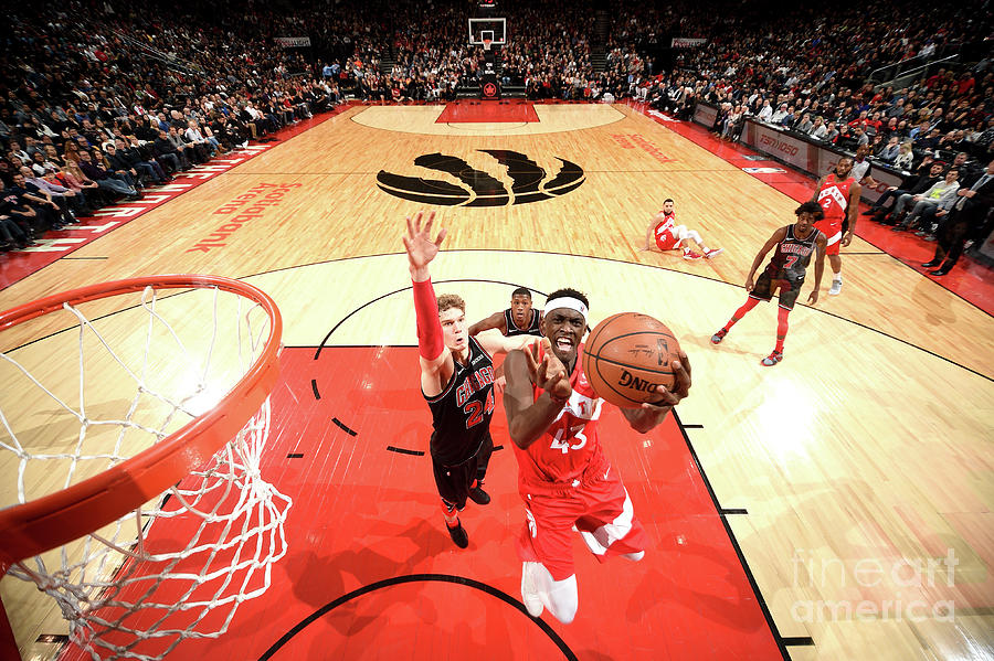 Pascal Siakam Photograph by Ron Turenne