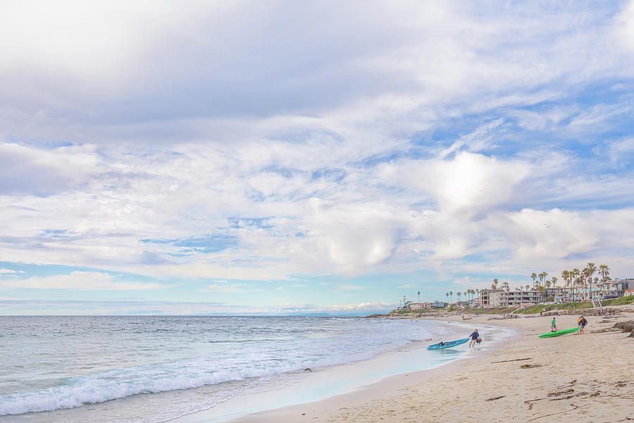 Pastel Day At The Beach Photograph