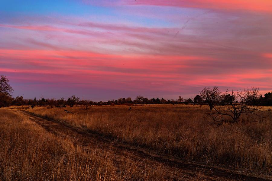 Sunset Photograph - Pastel Sunset by John Heywood