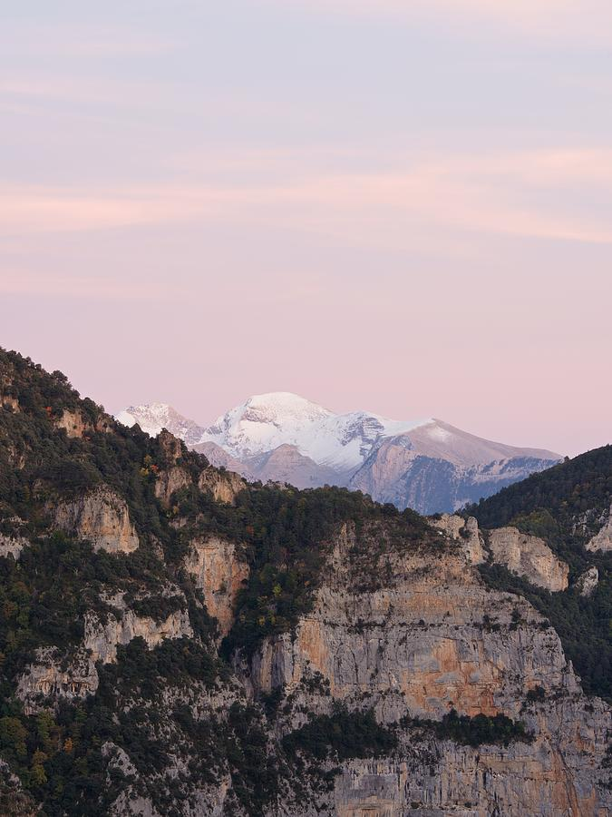 Pastel Tones over the Chistau and Puertolas Valley by Stephen Taylor