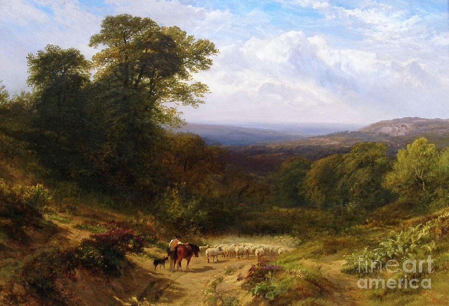Pastoral Landscape by George Cole
