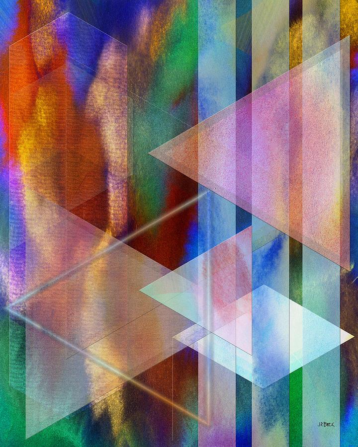 Pastoral Digital Art - Pastoral Midnight by John Robert Beck