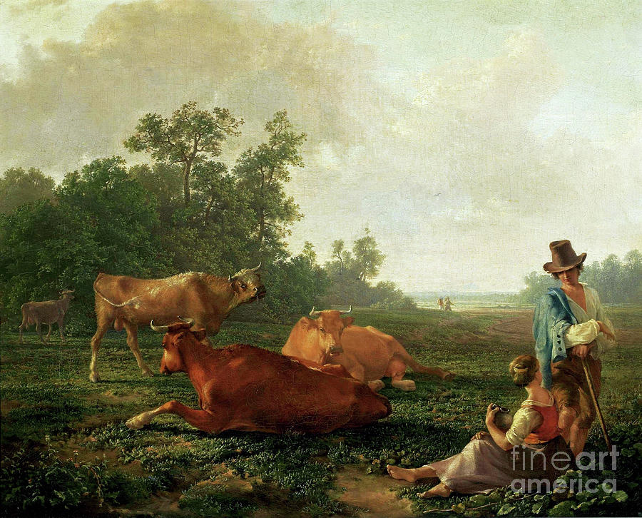 Pastoral Scene by Friedrich Nerly