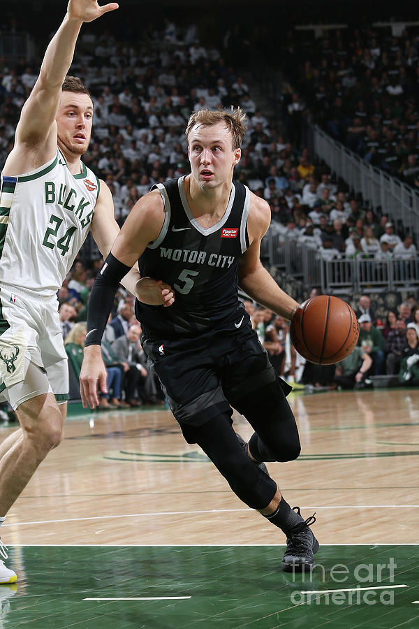 Pat Connaughton and Luke Kennard Photograph by Gary Dineen