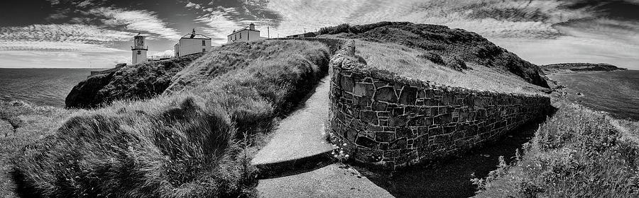 Path To Blackhead Lighthouse Photograph