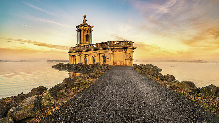 Path to Normanton Church by James Billings