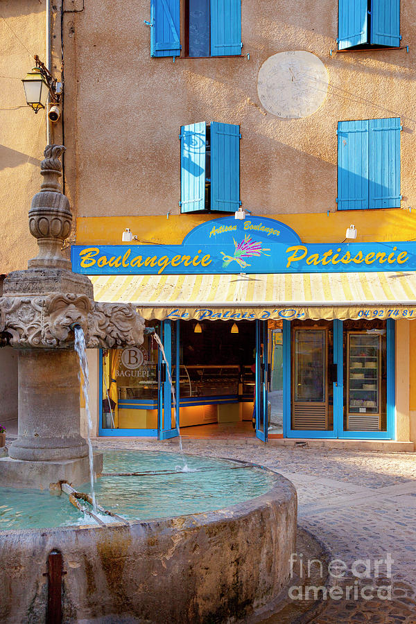 Patisserie - Provence France Photograph
