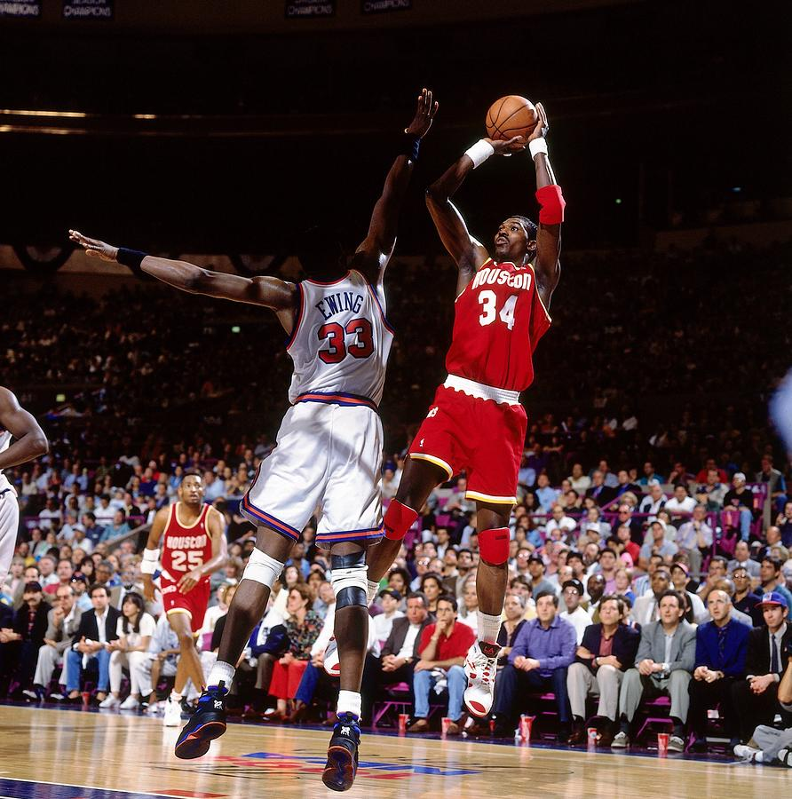 Patrick Ewing Photograph by Nathaniel S. Butler