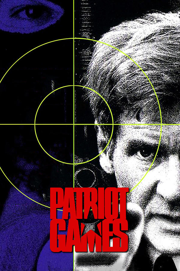 Patriot Games 1992 Digital Art By Geek N Rock