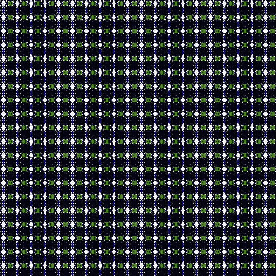 Pattern 702 By Kristalin Davis Digital Art