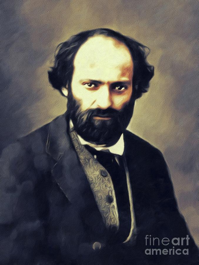 Paul Cezanne, Artist Painting