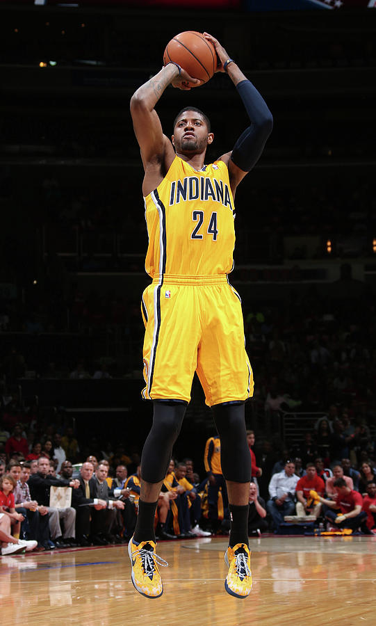 Paul George Photograph by Ned Dishman