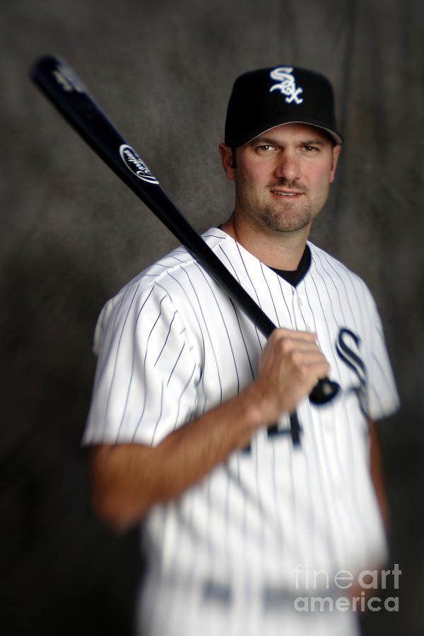Paul Konerko Photograph by Brian Bahr